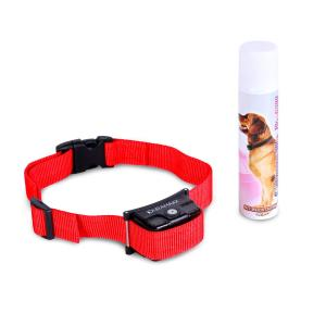 Duramaxx Balu Hunde-Erziehungshalsband rot inkl. Spray