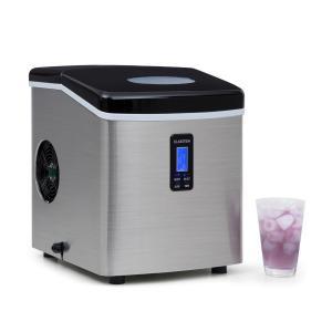 Mr. Black-Frost Eismaschine 150W Edelstahl schwarz 15kg Schwarz