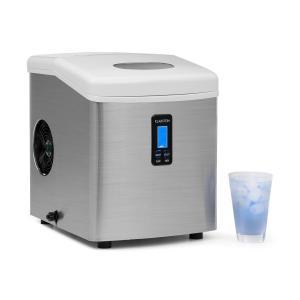 Mr. Silver-Frost Eismaschine 150W Edelstahl weiß 13kg Weiß