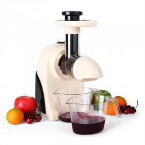 Fruitpresso Moreno Entsafter Saftpresse Slow Juicer 150W 80 U/min crem Creme