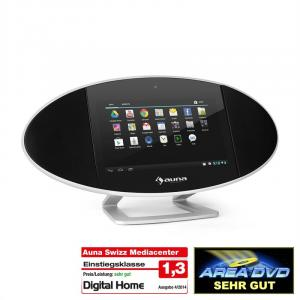 "Swizz Mediacenter 18cm (7"")-Touchscreen Android WiFi HDMI Bluetooth USB"