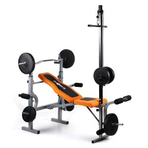 Ultimate Gym 3500 Kraftstation Hantelbank Latissimus Arm-/Beincurler