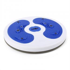 myTwist Body Twister Platte Fußmassage blau Blau