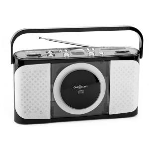 Boomtown-Boy portable CD Player Radio vollmobil