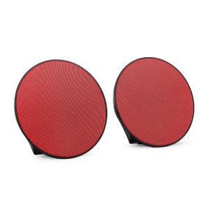 Dynasphere portable Bluetooth-Lautsprecher rot AUX