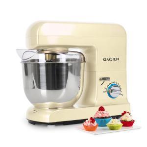 Gracia Morena Küchenmaschine 1000W 1,3 PS creme Creme