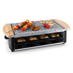 Chateaubriand Raclette-Grill Naturstein-Platte 8 Personen 1200W