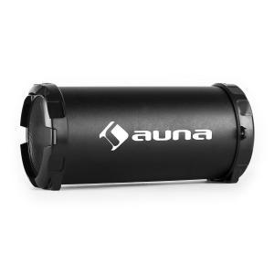 Dr. Beat 2.1 Bluetooth-Lautsprecher USB SD AUX UKW Akku schwarz Schwarz