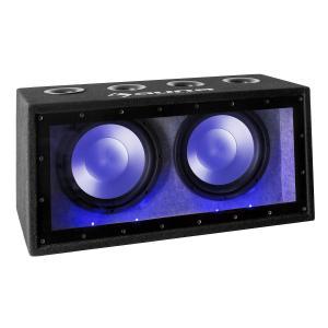 """Cannonbeat TX12 passiver Auto-Subwoofer 2 x 30cm (12"""") 2 x 300W LED"""