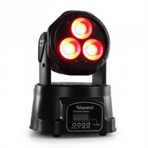 MHL-45 DMX Mini Moving Head Wash 3 x 15W COB LED DMX