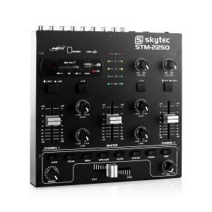 STM-2250 4-Kanal-Mixer USB SD MP3 FX