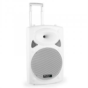 "Port15VHF-BT-WH 38cm (15"") PA-Lautsprecher 450W USB SD AUX Bluetooth"