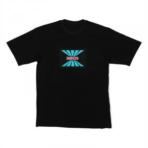LED-Shirt DISCO Größe XL