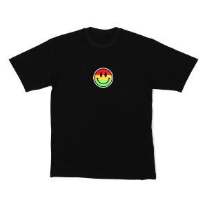 LED-Shirt Color Smiley Größe XL