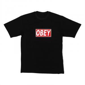 LED-Shirt OBEY Größe L