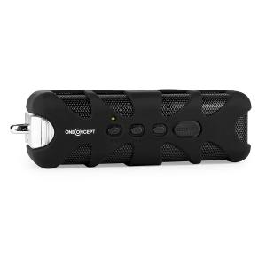 Black Know Bluetooth-Lautsprecher AUX Akku schwarz
