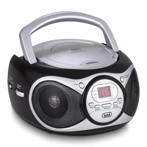 CD 512 CD-Player MP3 AM/FM-Radio AUX schwarz Schwarz