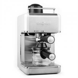 Sagrada Bianca Espressomaschine Edelstahl 800W 3,5 Bar 4 Tassen
