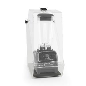 Herakles 2G Standmixer Schwarz mit Cover 1200W 1,6 PS 2 Liter BPA-frei Schwarz