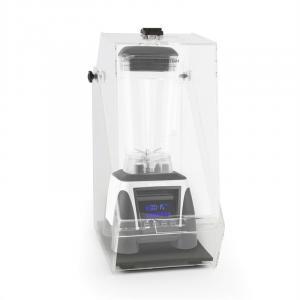 Herakles 8G Standmixer Weiß mit Cover 1800W 2,4 PS 2 Liter BPA-frei Weiß