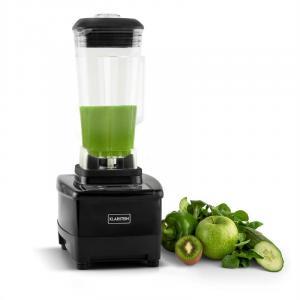 Herakles-4G Standmixer 1500W 2 PS 2L Edelstahl Green Smoothie BPA-frei Schwarz