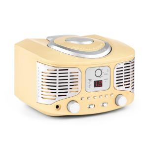 RCD320 Retro-CD-Player UKW AUX creme Creme