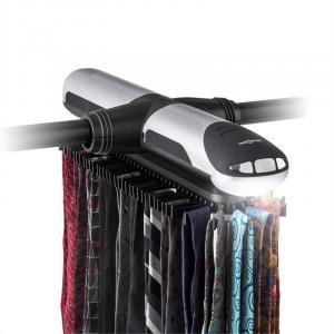 Savile Row elektrischer Krawattenhalter Umlauf LED-Licht 72 Bügel