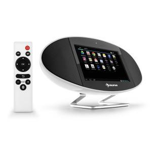 """Swizz Soundpad Mediacenter 18cm (7"""")-Display WiFi Bluetooth AirPlay DLNA -"""