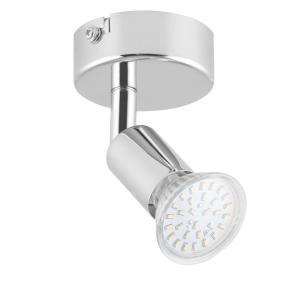 Kvalfoss 1 Spotlampe LED 3W 250lm drehbar schwenkbar Chrom Kl. A+