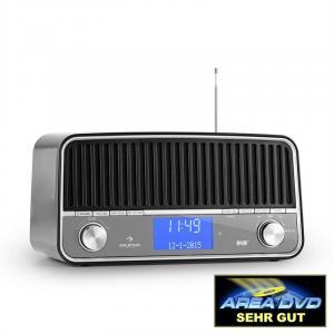 Nizza DAB+ Retro-Radio Bluetooth UKW AUX 2.1 Subwoofer