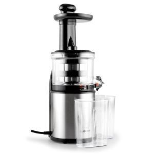 Flowjuicer Entsafter Slow Juicer 200W 80 U/min Edelstahl