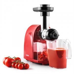 Slowjuicer  Entsafter 150W 80 U/min rot-schwarz Rot