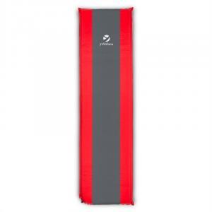 Goodrest 5 Isomatte Luftmatratze 5cm dick selbstaufblasend rot-grau