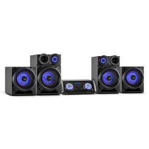 Mega Party All-in-One-Party-PA-System 720W Bluetooth DVD HDMI USB