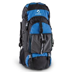 Thurwieser RD Trekking-Rucksack 55 Liter Nylon wasserfest blau Blau