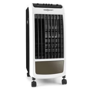 CarribeanBlue Luftkühler Lufterfrischer Ventilator 70W schwarz/weiß Schwarz
