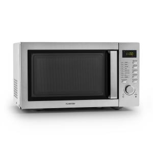 Steelwave Mikrowelle 23l 800W Grill 1000W Edelstahl