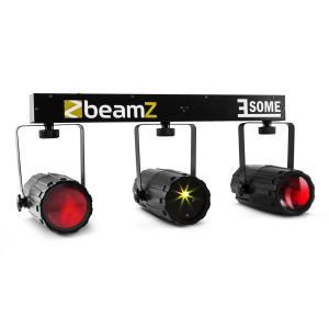3-Some Licht-Set RGBW-LED Multipoint Laser Mikrofon