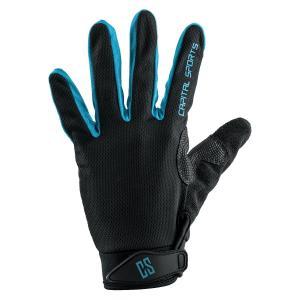 Nicetouch L Blau Sporthandschuhe Trainingshandschuhe Kunstleder Blau | L