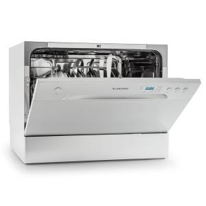 Amazonia 6 Tischgeschirrspülmaschine A+ 1380W 6 Maßgedecke 49 dB Silber