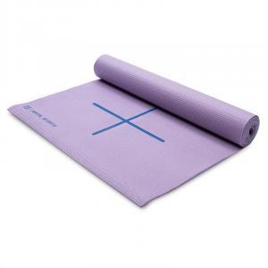 Yosalo Yogamatte Gymnastikmatte Lila inkl. Umhängetasche Lila