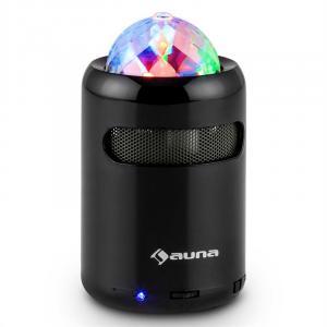 Discohead Bluetooth-LED-Lautsprecher kabellos MP3 Radio Freisprechanlage