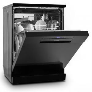 Amazonia 60 Geschirrspülmaschine A++ 1850W 12 Maßgedecke 49 dB schwarz Schwarz