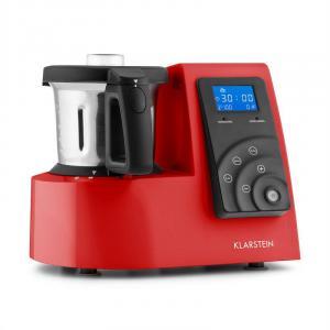 Kitchen Hero 9-in-1 Küchenmaschine Thermo 2l 600/1300W rot Rot