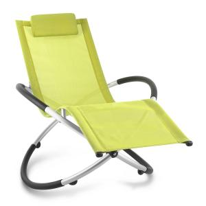 Chilly Billy Gartenliege Liegestuhl Relaxliege Aluminium lime Grün