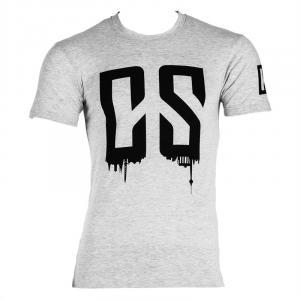 Beforce Trainings-T-Shirt für Männer Size S grau meliert S