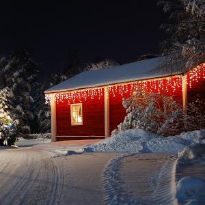 Dreamhouse Snow Lichterkette 24m 480 LED warmweiß Snow Motion