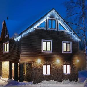 Dreamhouse Flash Lichterkette 8m 160 LED kaltweiß Flash Motion