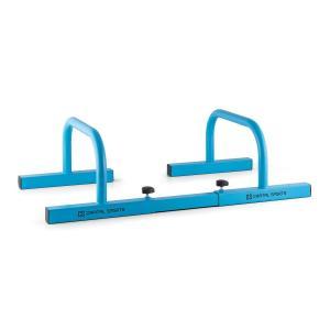 Paralo Parallettes Paar Stahl blau Blau