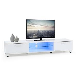 Keira Lowboard TV Board LED-Stimmungslicht Farbwechsel weiß